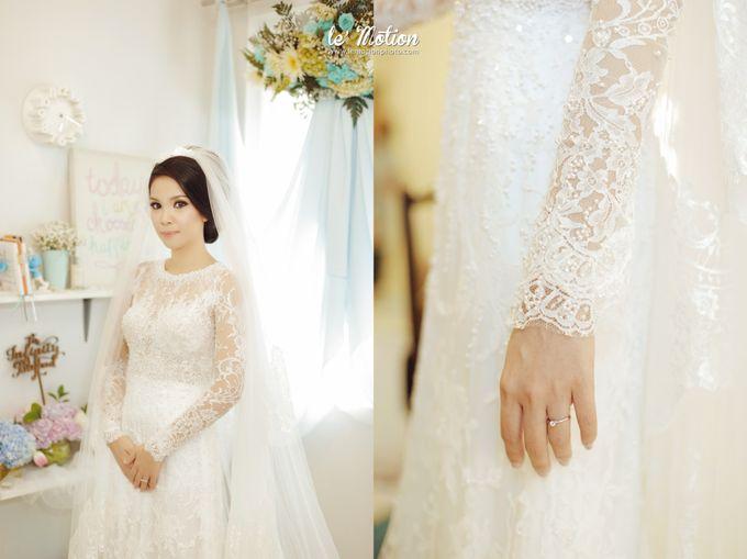 Tisya & Ferry - International Wedding by Imelda Hudiyono Bride - 032