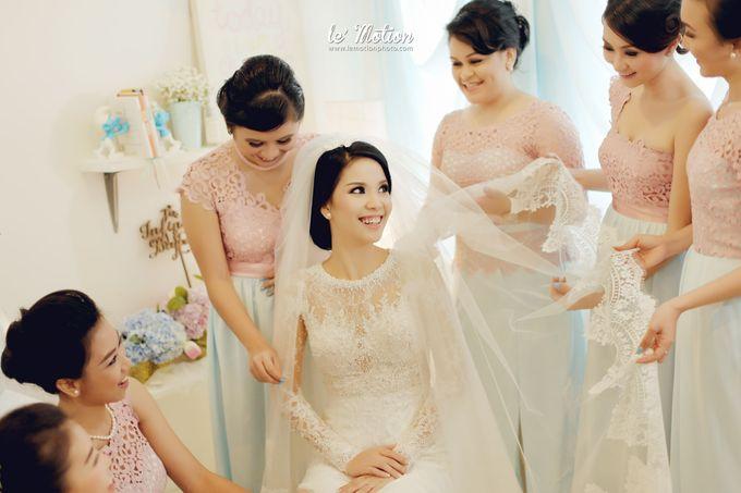 Tisya & Ferry - International Wedding by Imelda Hudiyono Bride - 011