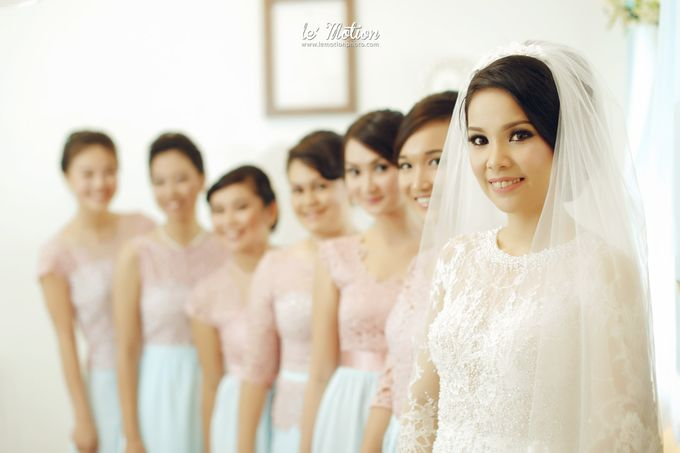 Tisya & Ferry - International Wedding by Imelda Hudiyono Bride - 012