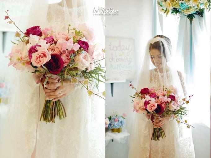 Tisya & Ferry - International Wedding by Imelda Hudiyono Bride - 033