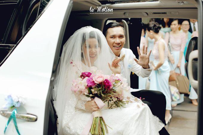 Tisya & Ferry - International Wedding by Imelda Hudiyono Bride - 028