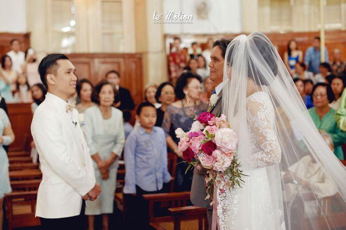 Tisya & Ferry - International Wedding by Imelda Hudiyono Bride - 018