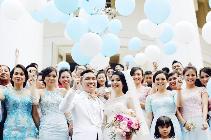 Tisya & Ferry - International Wedding by Imelda Hudiyono Bride - 026