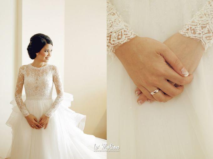 Tisya & Ferry - International Wedding by Imelda Hudiyono Bride - 034