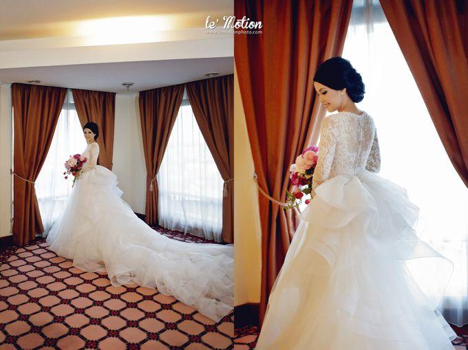 Tisya & Ferry - International Wedding by Imelda Hudiyono Bride - 035