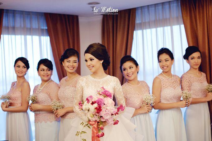 Tisya & Ferry - International Wedding by Imelda Hudiyono Bride - 036