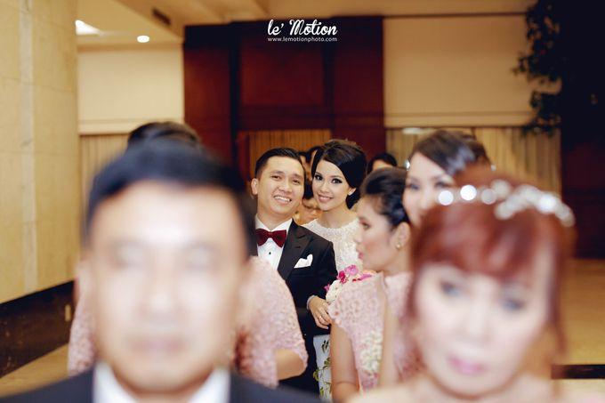 Tisya & Ferry - International Wedding by Imelda Hudiyono Bride - 037