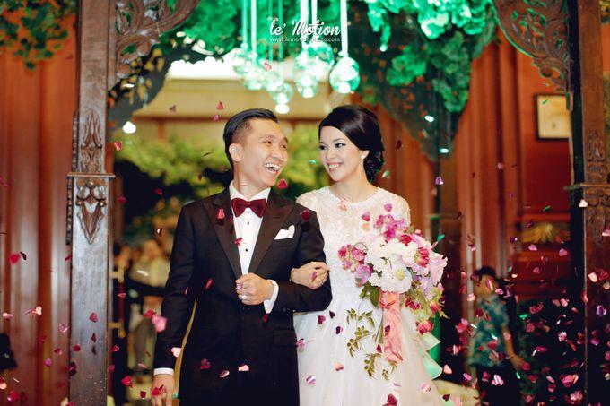 Tisya & Ferry - International Wedding by Imelda Hudiyono Bride - 039
