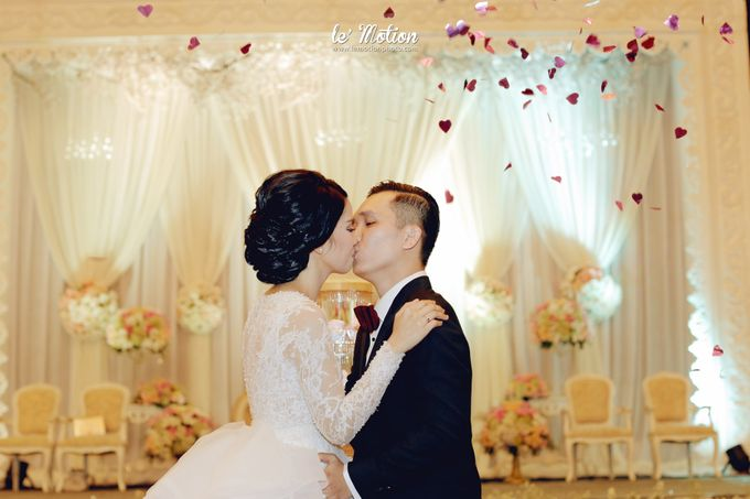 Tisya & Ferry - International Wedding by Imelda Hudiyono Bride - 042