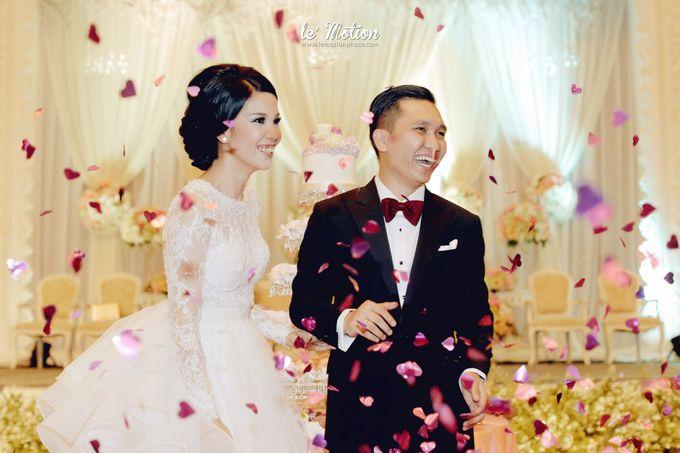 Tisya & Ferry - International Wedding by Imelda Hudiyono Bride - 043