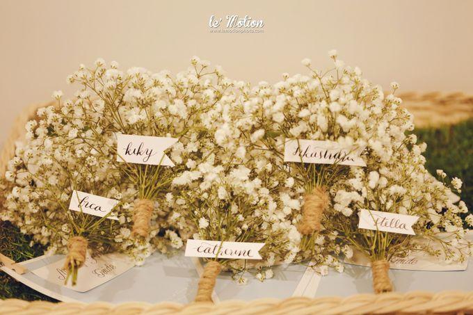 Tisya & Ferry - International Wedding by Imelda Hudiyono Bride - 015