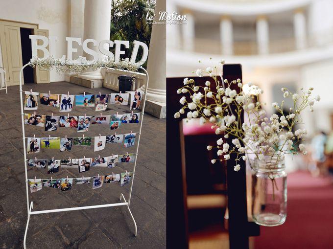 Tisya & Ferry - International Wedding by Imelda Hudiyono Bride - 013