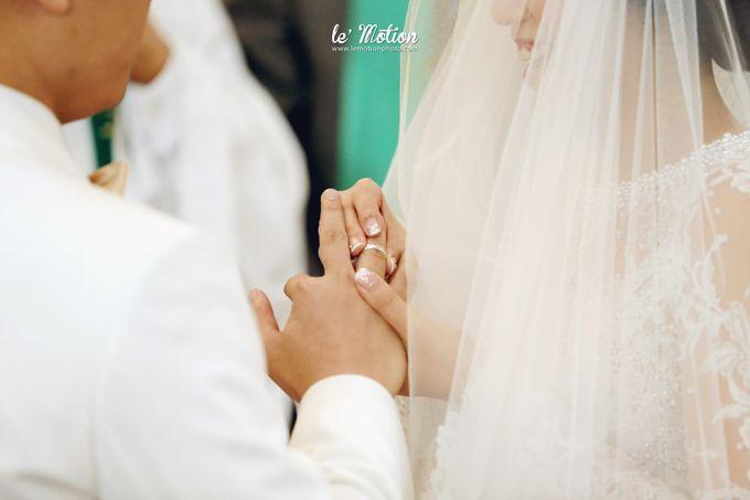 Tisya & Ferry - International Wedding by Imelda Hudiyono Bride - 020
