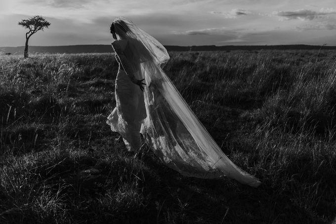 Elopement in Masai Mara Kenya by Tu Nguyen Wedding - 002