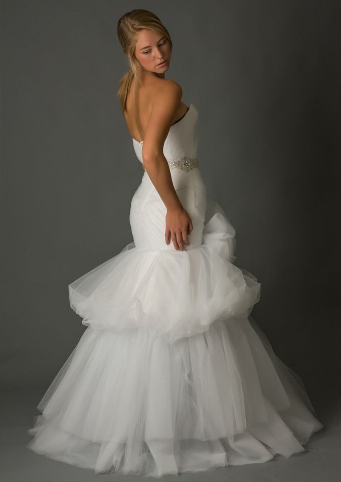 White Tulle Wedding Dress by Desiree Spice - 002