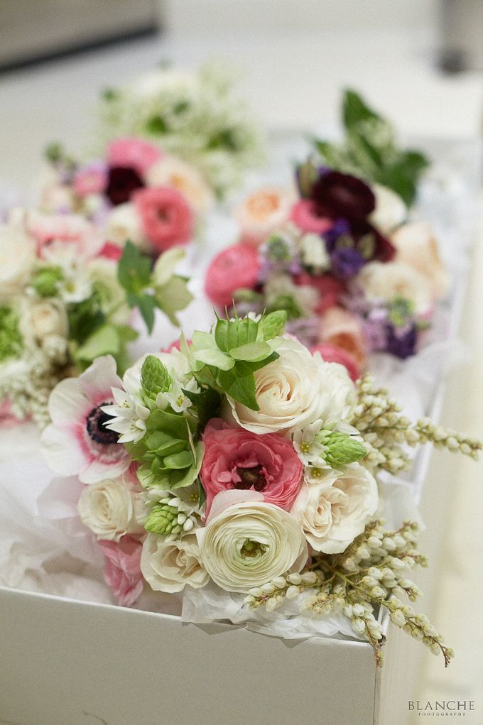 Bridal Party by Affair with George  Florals & Event Styling - 017