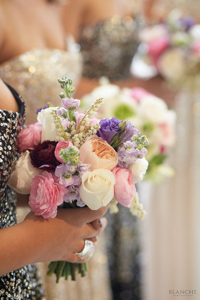 Bridal Party by Affair with George  Florals & Event Styling - 019