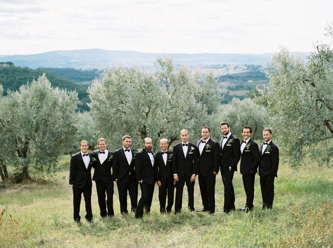 Tuscan Wedding by Katie Grant Photography - 006