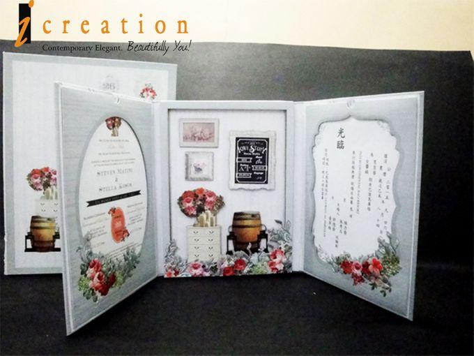 3 Dimensional Wedding Invitation by Icreation - 009