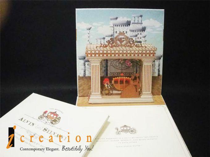 3 Dimensional Wedding Invitation by Icreation - 008