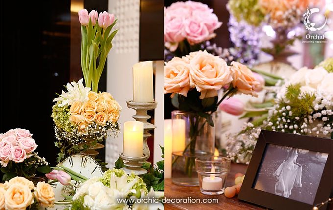 The Sweetest Moment by Orchid Florist and Decoration - 007