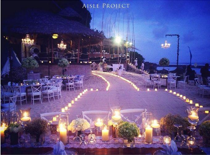 Beach Wedding Dream by Aisle Project - 006