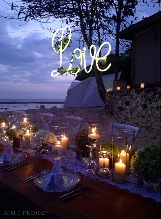 Beach Wedding Dream by Aisle Project - 005