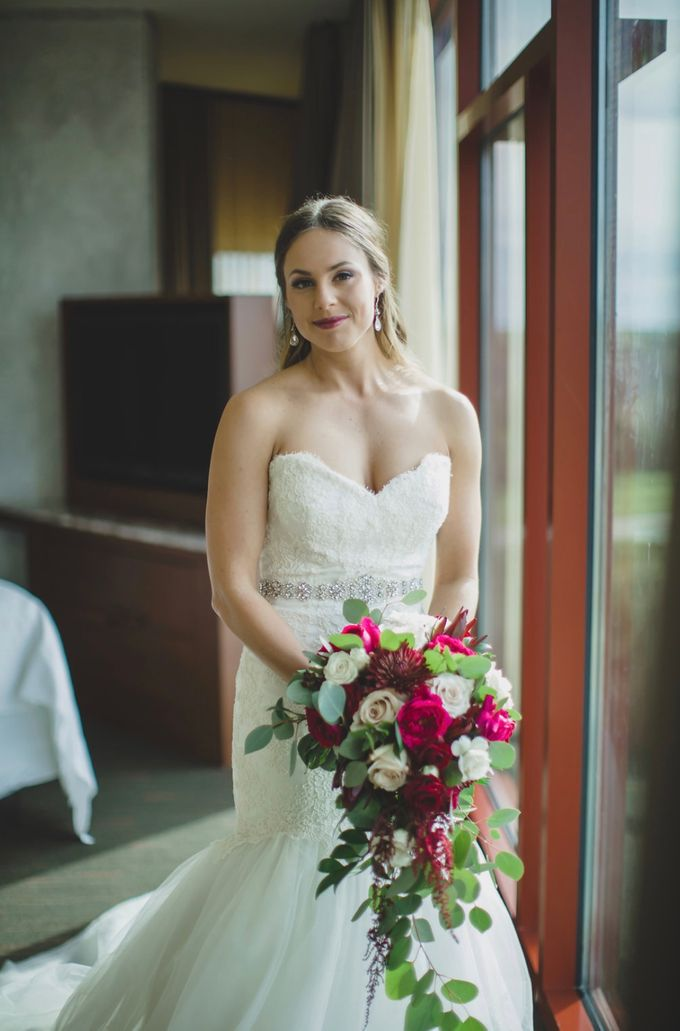 Blush and Merlot Resort wedding by Events In Bloom - 001