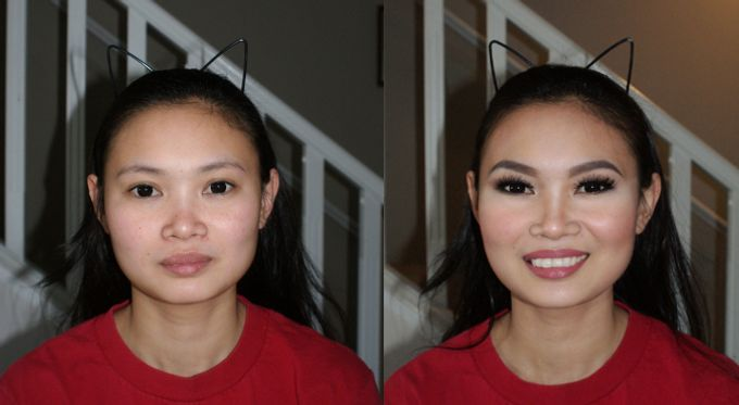 Before and After by Cinthia Torres Makeup Artistry - 004