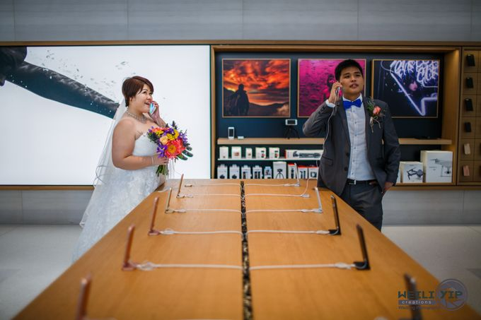 Apple Store - Actual Day Wedding (Suat & Jerymn) by Weili Yip Creations - 005