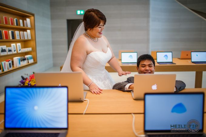 Apple Store - Actual Day Wedding (Suat & Jerymn) by Weili Yip Creations - 006