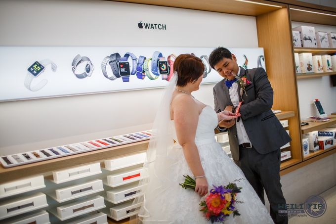 Apple Store - Actual Day Wedding (Suat & Jerymn) by Weili Yip Creations - 007