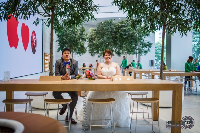 Apple Store - Actual Day Wedding (Suat & Jerymn) by Weili Yip Creations - 010
