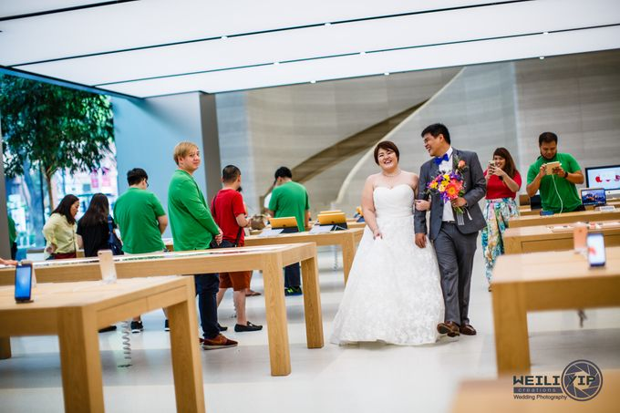Apple Store - Actual Day Wedding (Suat & Jerymn) by Weili Yip Creations - 012