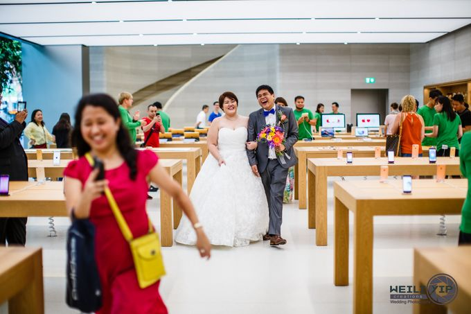 Apple Store - Actual Day Wedding (Suat & Jerymn) by Weili Yip Creations - 013