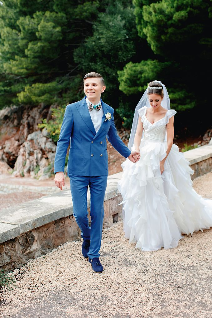 Fairytale Montenegro wedding by BMWedding - 036