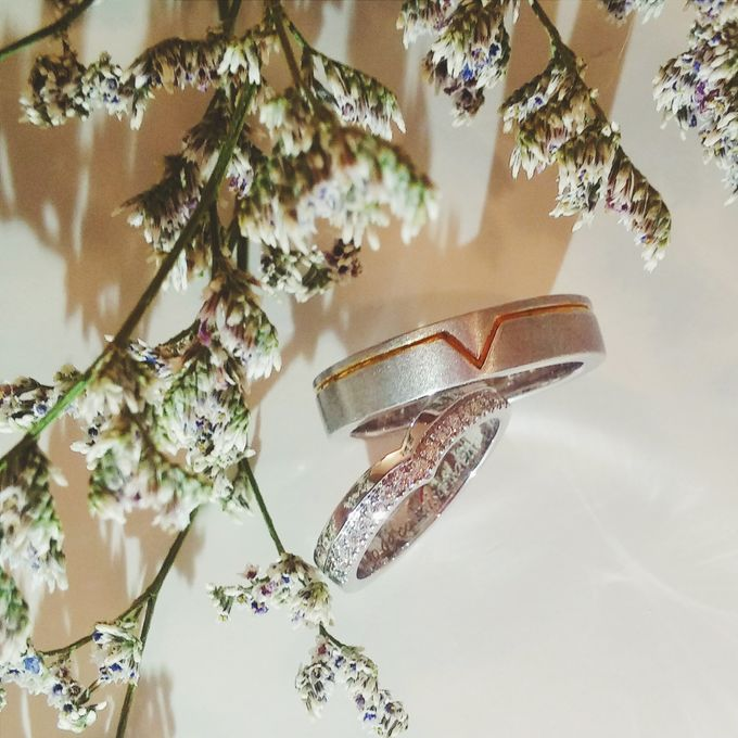 V & YQ - Bespoke Wedding Rings by Vault Fine Jewellery - 004