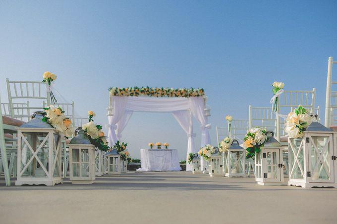 Romantic elegant wedding in Santorini by MarrymeinGreece - 009