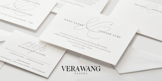 Oscar de la Renta wedding invitation by Paperless Post - 006