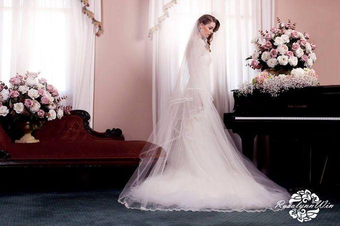 Wedding Veils by Rosalynn Win Haute Couture - 003