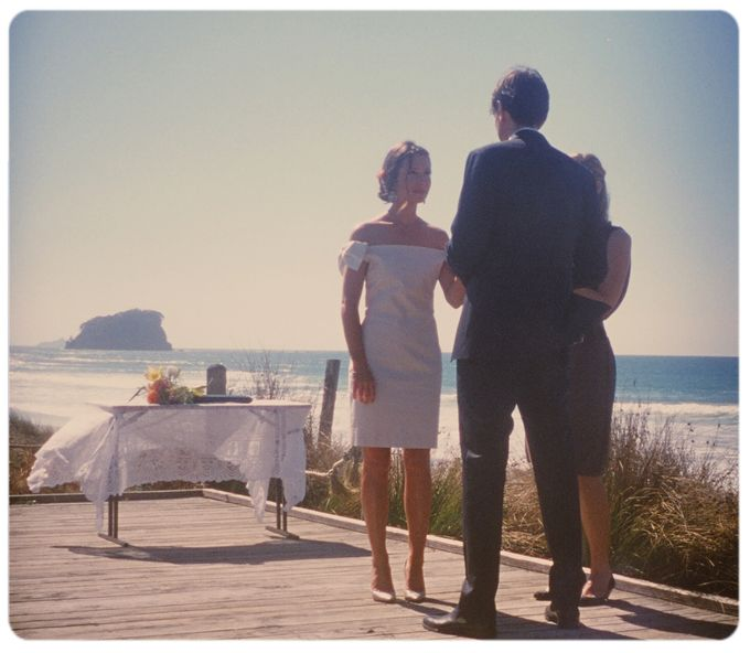 Wedding on the beach in New Zealand by Stereo Photo Album - 004