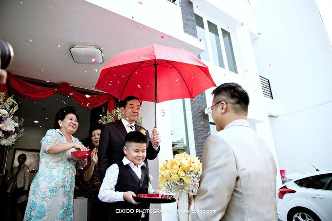 Darren & Yohana Wedding by Dante Wedding Planner - 012