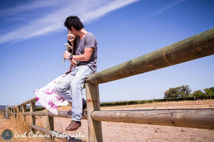 Perth Pre Wedding Photography for Chongyou & Kai Ling by Lush Colours Photography - 005