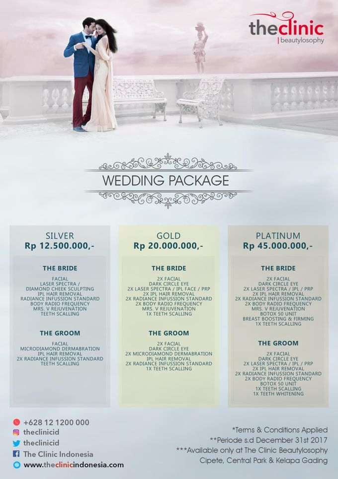 Wedding Package by The Clinic Beautylosophy - 005