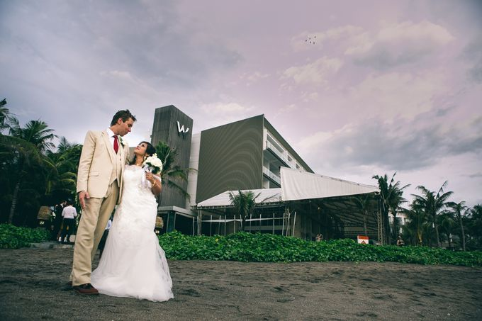 Beach Wedding and Dance the Night Away Under the Stars by W Bali - Seminyak - 012