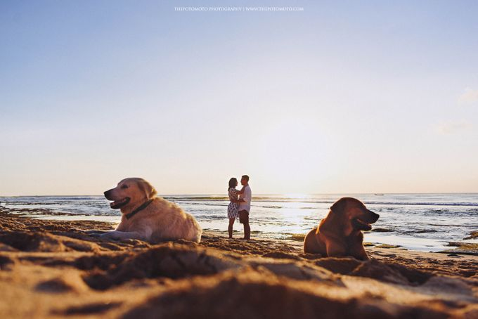 Dea & Rizky Prewedding Session by Thepotomoto Photography - 011