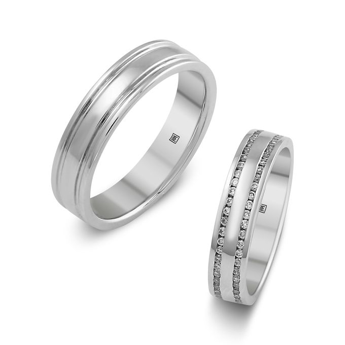 MT Wedding Bands by Michael Trio - 005