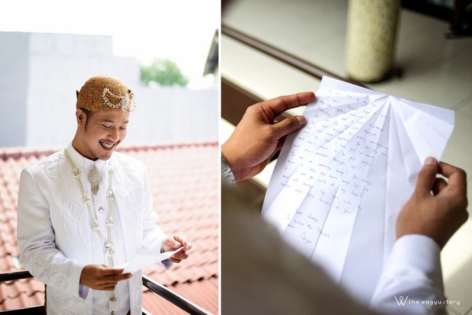 The Wedding of Rizqi & Diar by The Wagyu Story - 014