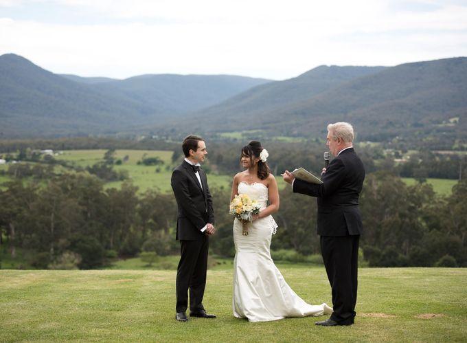 Yarra Valley Weddings by Treasured Ceremonies - 004