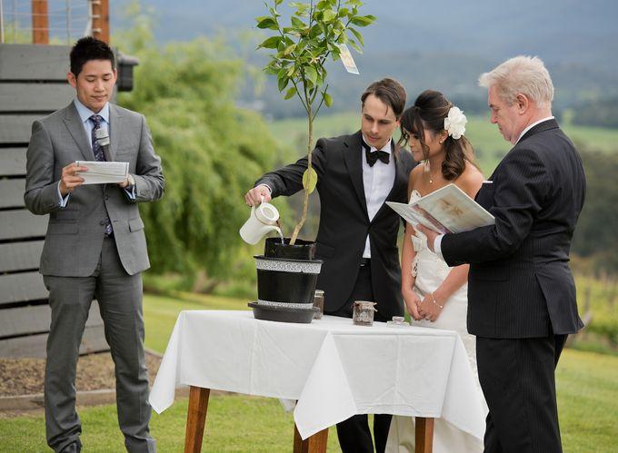 Yarra Valley Weddings by Treasured Ceremonies - 005